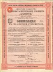Северное общество целлюлозного и писчебумажного производства СОКОЛ   1912 год