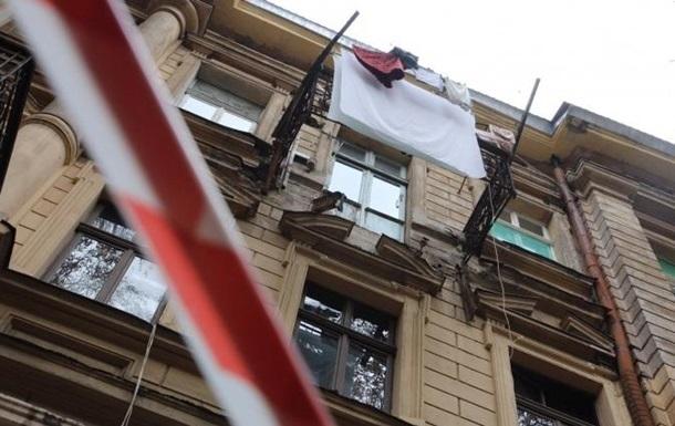 Вцентре Одессы обрушился балкон, есть пострадавшие