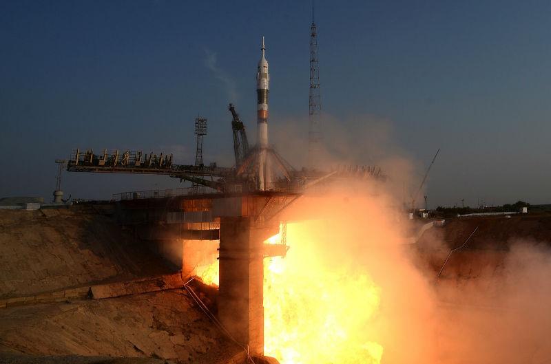 NASA желает приобрести дополнительные места на русских «Союзах»
