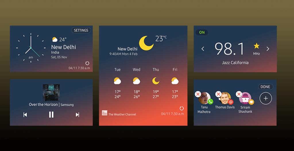 Самсунг представила Tizen 4.0