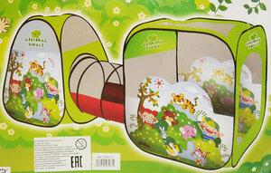 Детская палатка домик с тоннелем SG7015-E