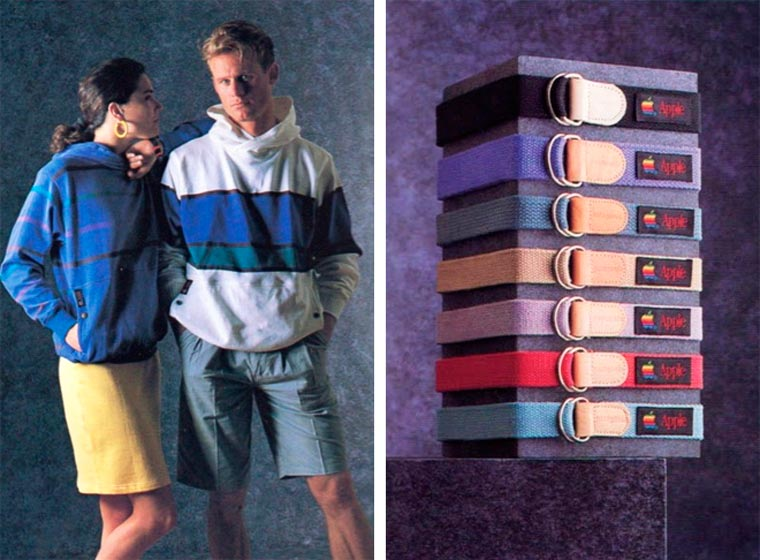 When Apple was selling clothes in 1986