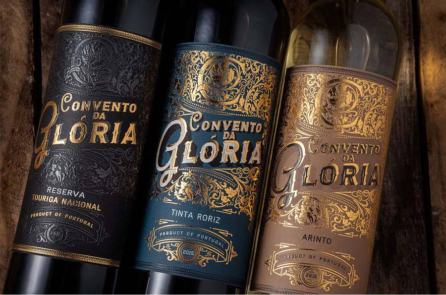Stylish Visual Identity for Portuguese Wine