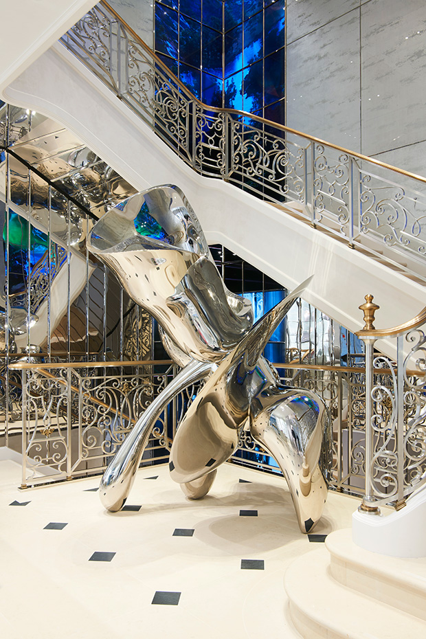 The House of Dior Boutique in London (8 pics)