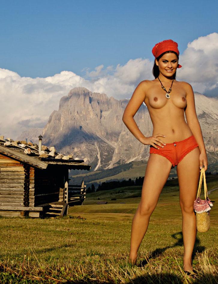 Anna Scharl / Playboy Germany - Oktoberfest 2014 Special Edition