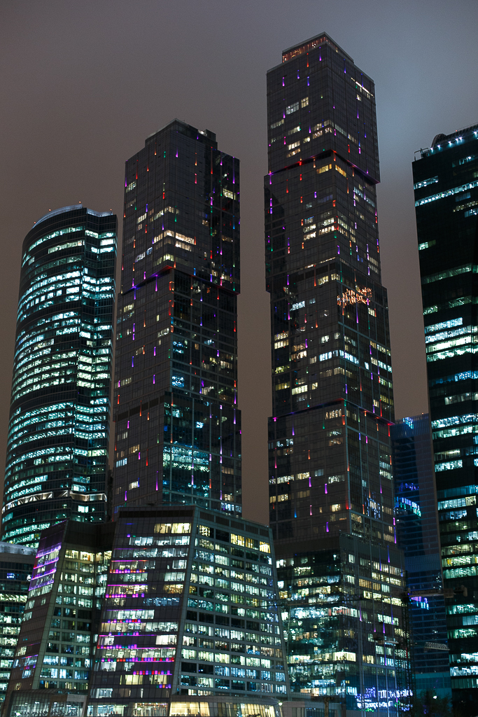 Новогодняя Москва