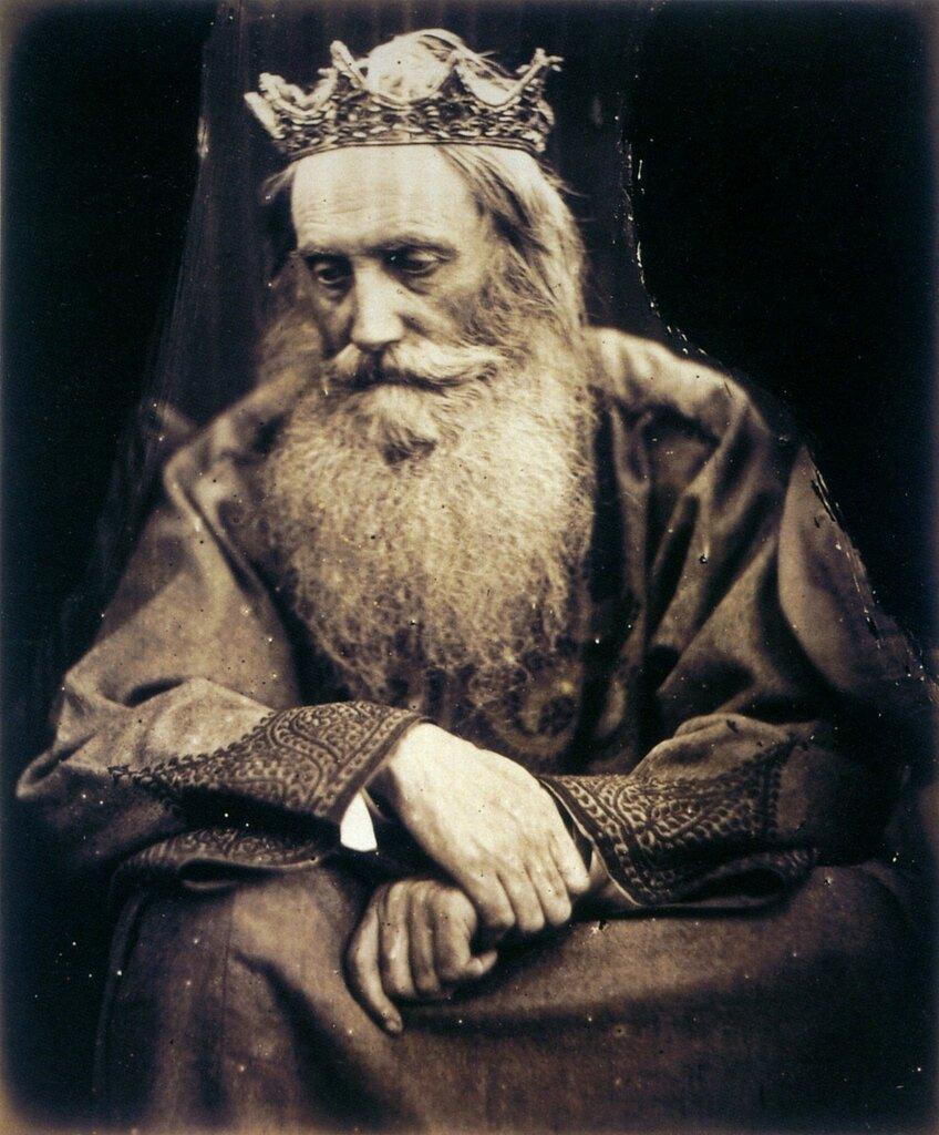 Study of King David by Julia Margaret Cameron. Depicts Sir Henry Taylor, 1866 [https://img-fotki.yandex.ru]