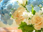 Искусственные цветы. Слеплены из полимерной глины. Ручная работа.