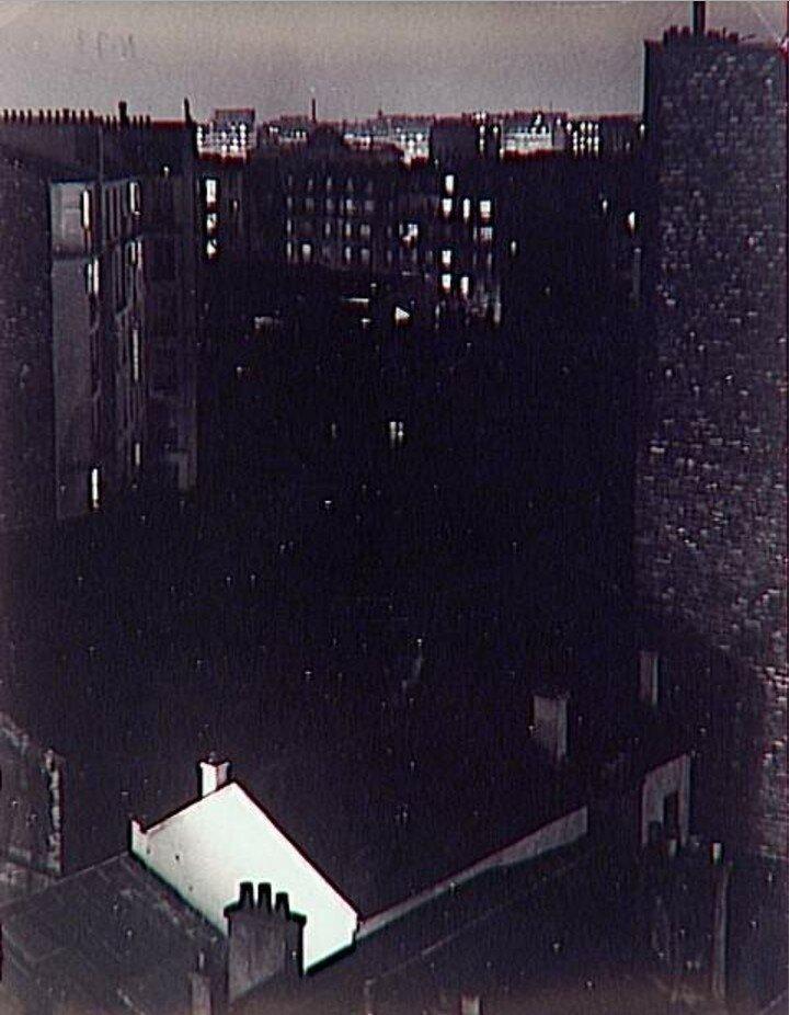 1931. Вид из номера отеля Терраса