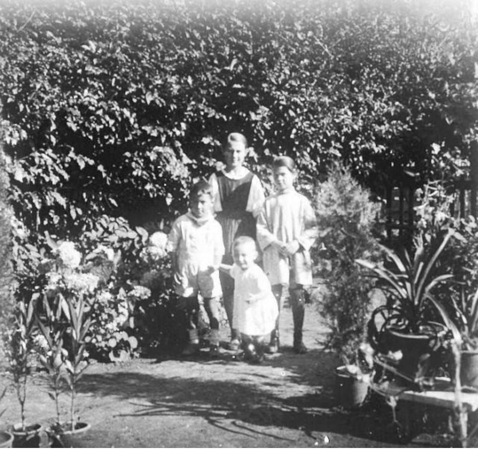 Дети в саду