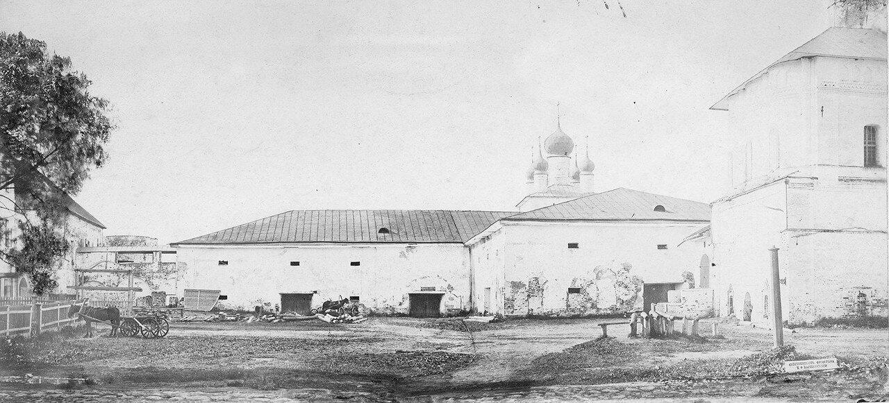 Государские палаты Ростовского кремля. 1884