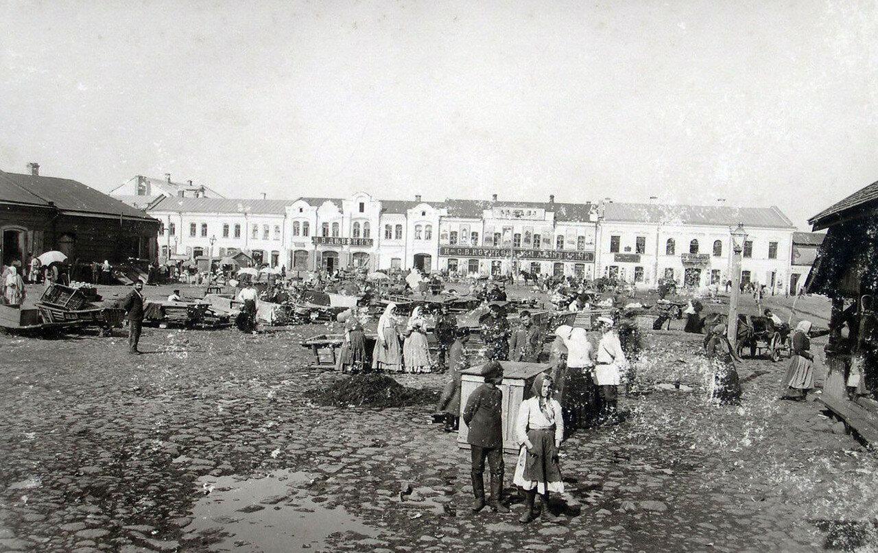 Рыночная площадь. 1901