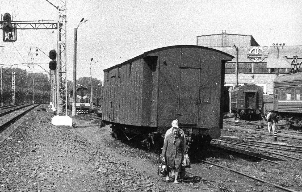 Станция Финляндский-Товарная