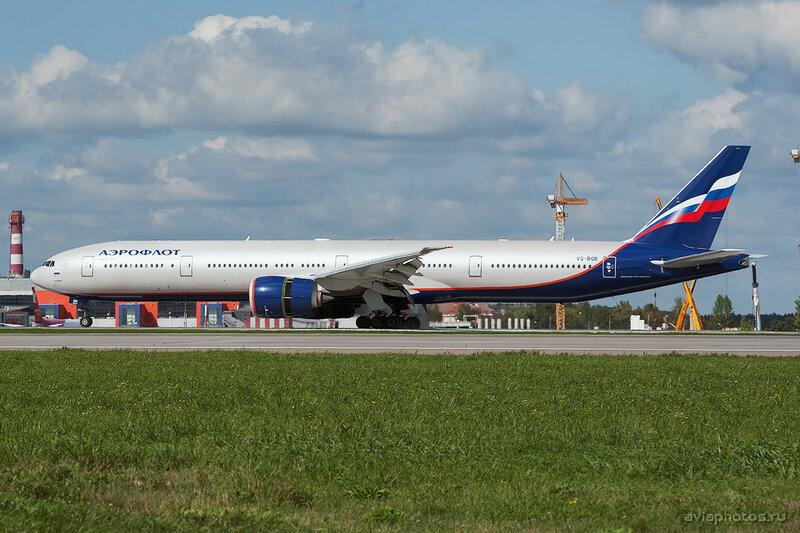 Boeing 777-3M0/ER (VQ-BQB) Аэрофлот 313_D704142