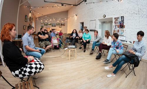 Форум «Творческие индустрии». Дискуссия о развитии блогосферы в Томске «Вы его не видели, а он есть — блогинг в Томске». Фото: Павел Рыскаленко