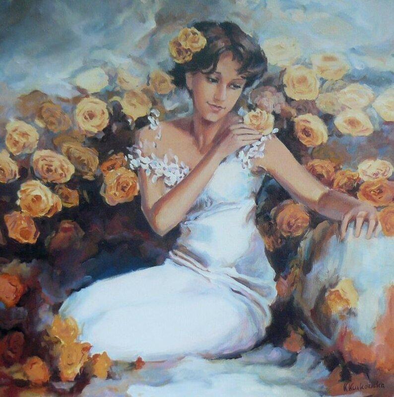 Польская художница Katarzina Kurkowska