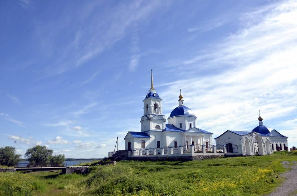 Церковь цвета неба (29.06.2016)