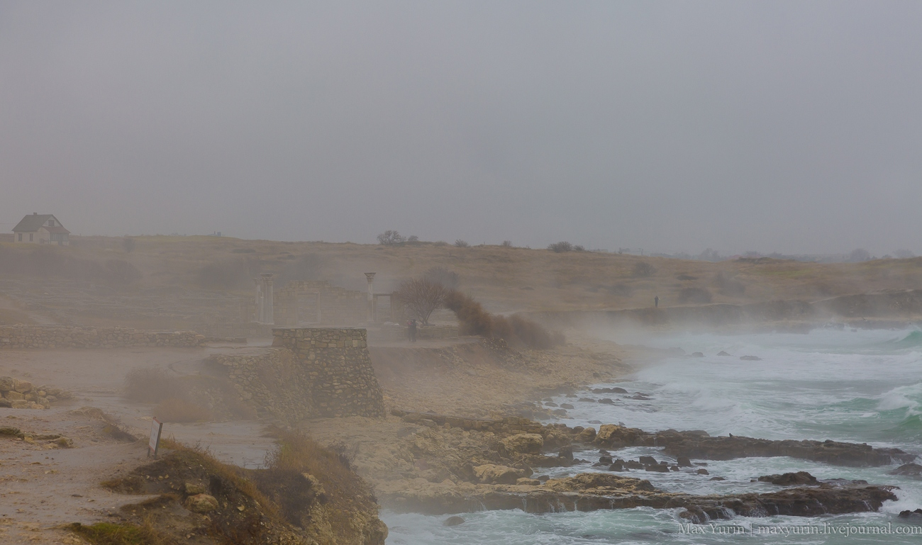 Базилика в тумане