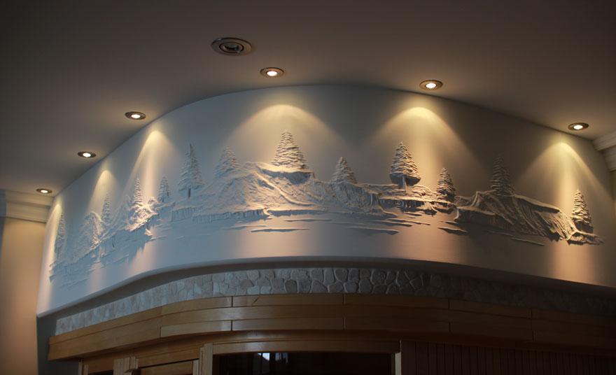 Берни Митчелл: стены как произведение искусства
