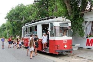 Старинные трамваи Евпатории