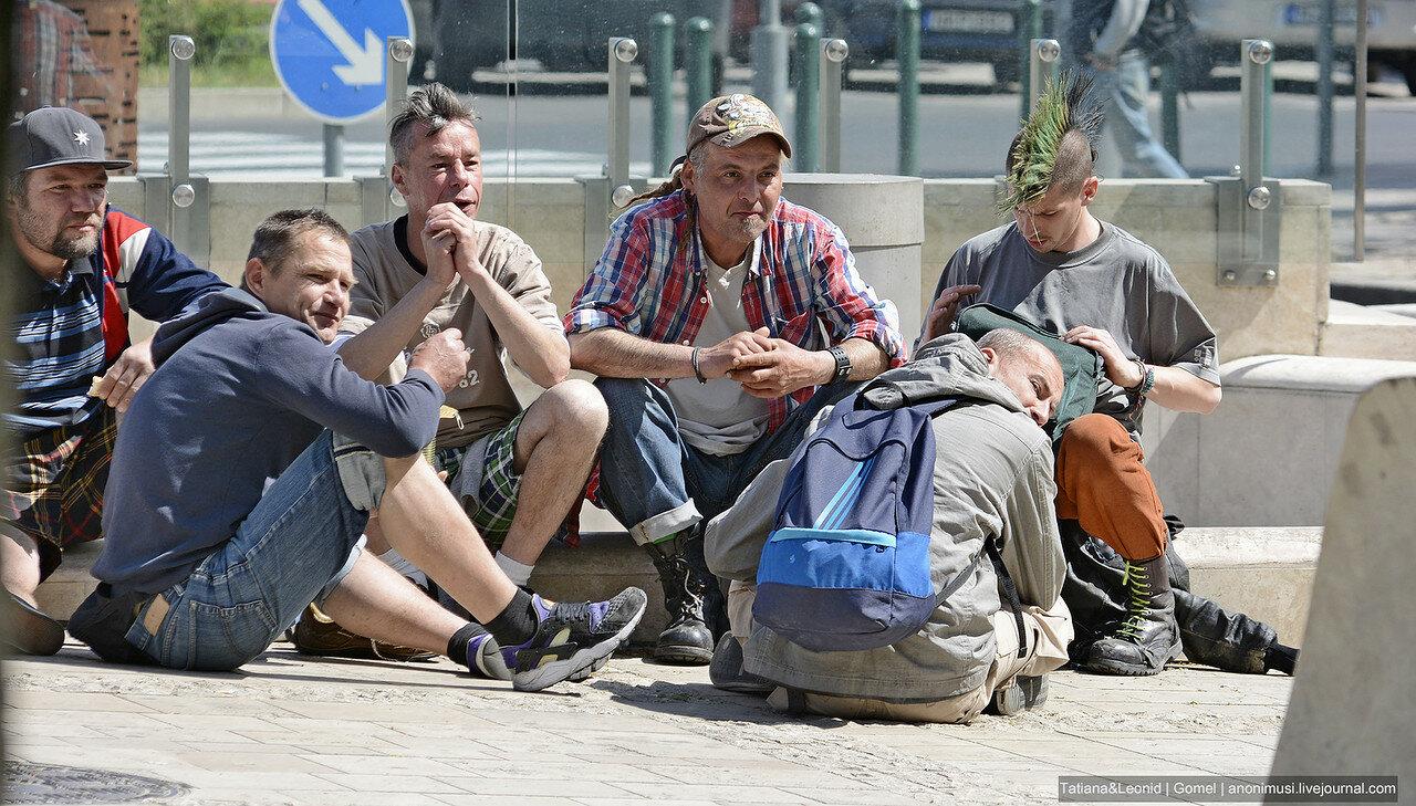 Жители Будапешта
