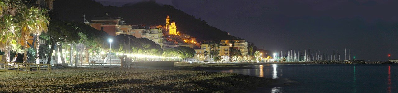 Night in Diano Marina