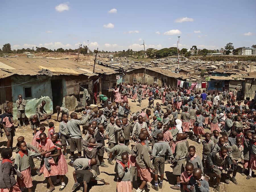 3.Трущобы Матаре, Найроби, Кения