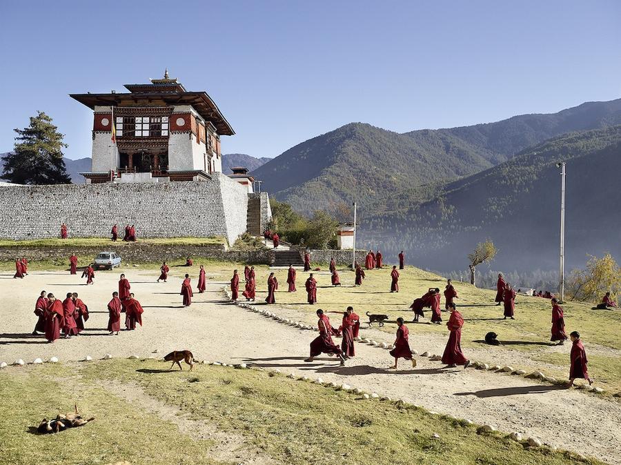 6.Буддийский монастырь Дечен-Пходранг, Тхимпху, Бутан