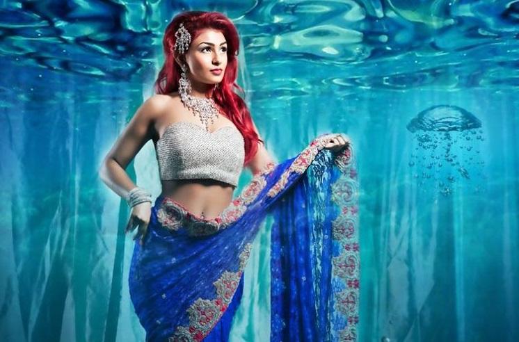 Знаменитые принцессы Диснея в индийских образах
