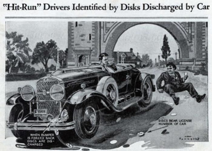 Умные диски уже тогда. В 1931 году журнал Popular Mechanics предложил идею, как можно находить нерад