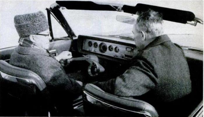 Инновационный руль. В 1965 году Ford пообещал своим клиентам более комфортную езду, а также лучший о