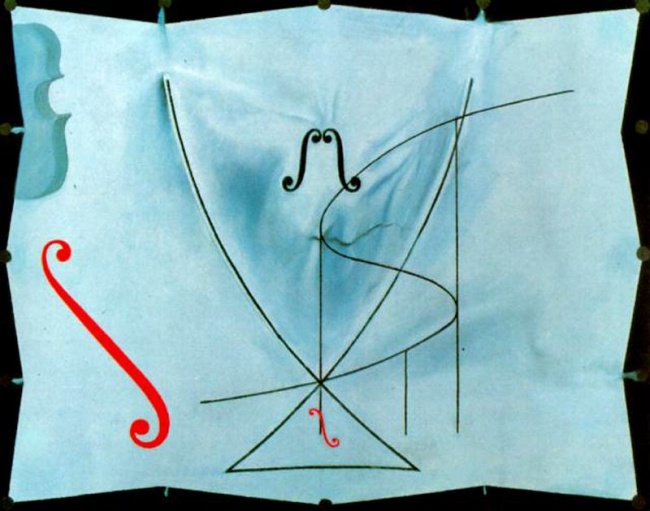 © www.wikiart.org  «Ласточкин хвост», 1983 Над своей последней картиной Дали работал взамке П