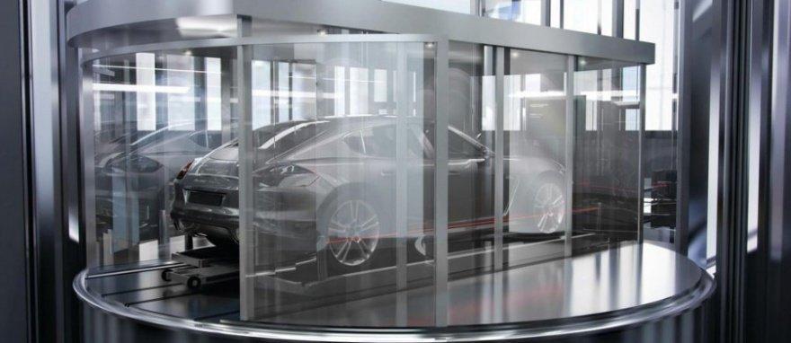 7. Парковка «Сад Porsche» (Porsche Garden) компании Cardok (Великобритания) Впервые это устройство б