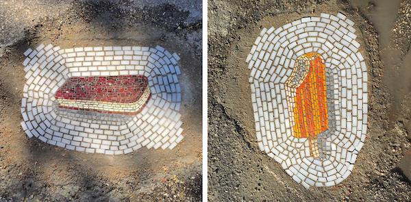 4. Мозаика на улицах Майами.