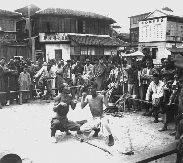 Шанхай 1930-х годов в серии черно-белых фотографий