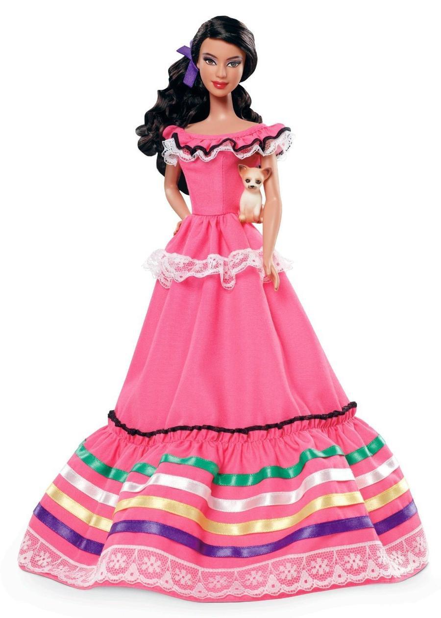 6. Мексиканская Барби Эта кукла должна была отображать мексиканскую культуру самым стереотипным обра