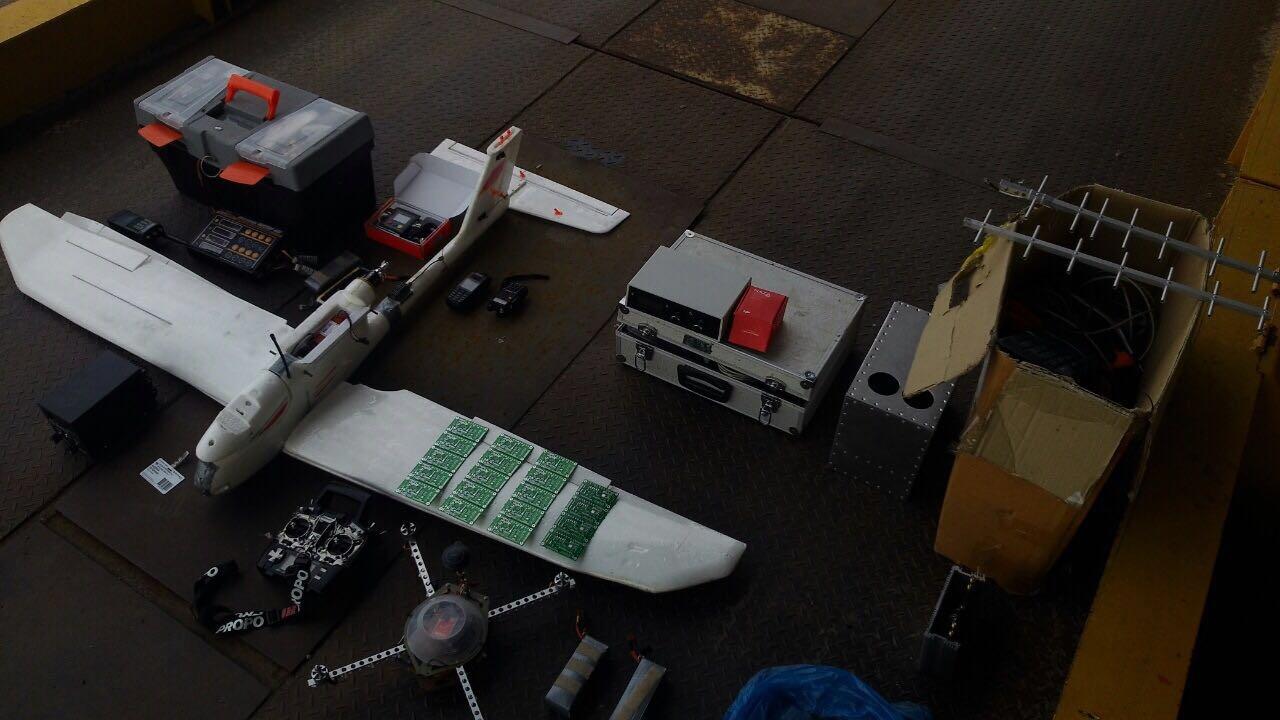 Украинец пытался тайком ввезти изРФ беспилотники, камеры ирадиостанции