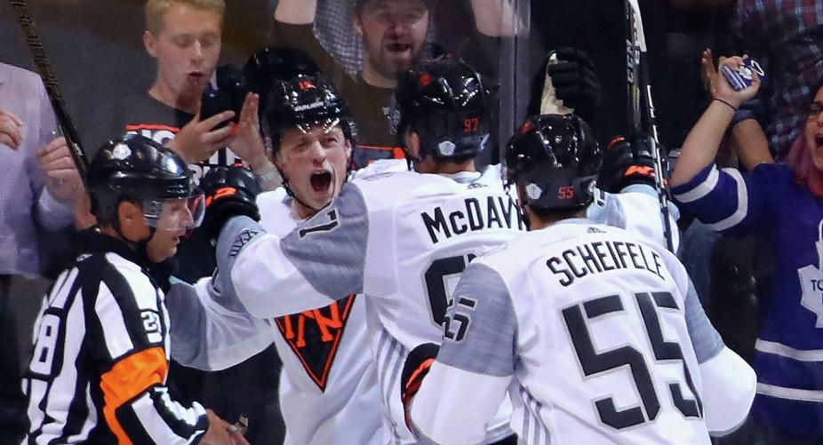 Сборная Северной Америки обыграла команду Финляндии вматче Кубка мира похоккею