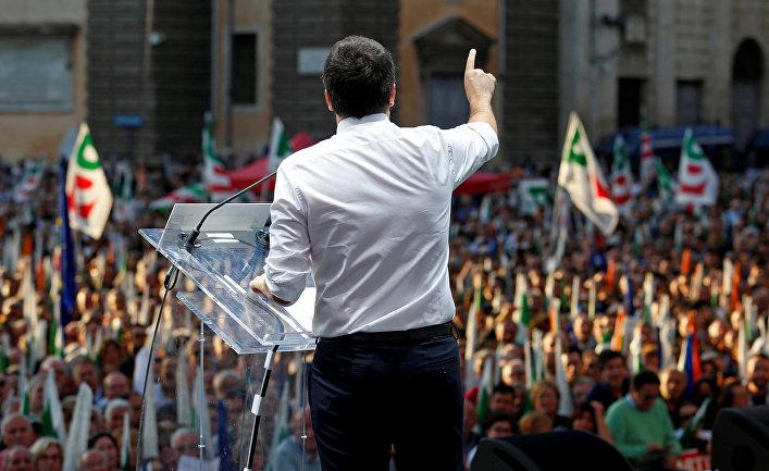 ВИталии проходит референдум, который решит судьбу премьера страны
