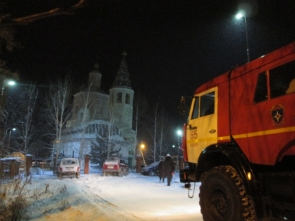 МЧС РФ обеспечит безопасность прихожан ихрамов вРождество Христово