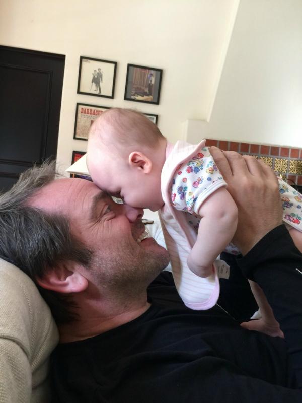 Фотографии маленькой дочери Марка Шеппарда