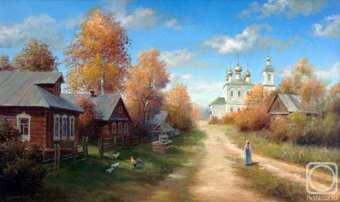 Светлана Грохотова: осенние пейзажи