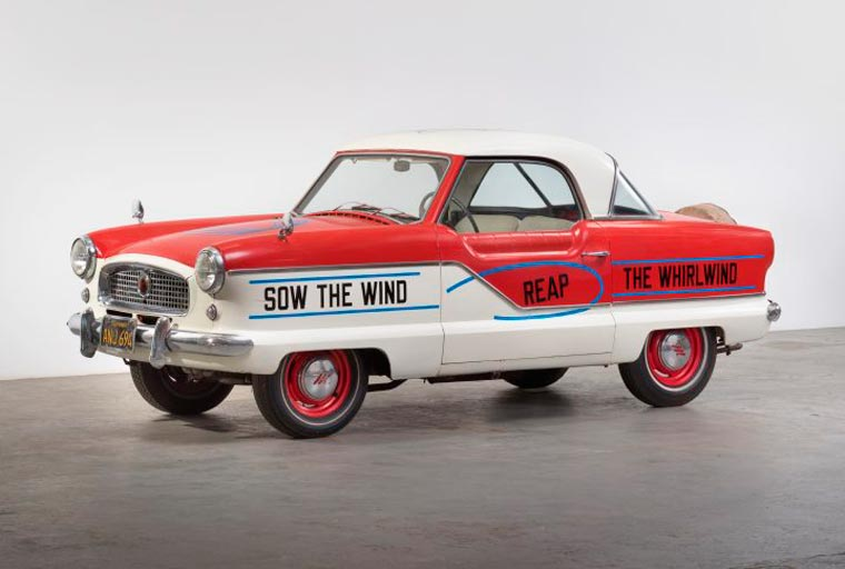 Lawrence Weiner, Untitled (Sow the Wind, Reap the Whirlwind), 2015
