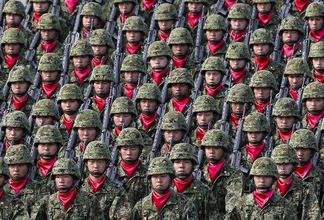 Military Parade in Asaka