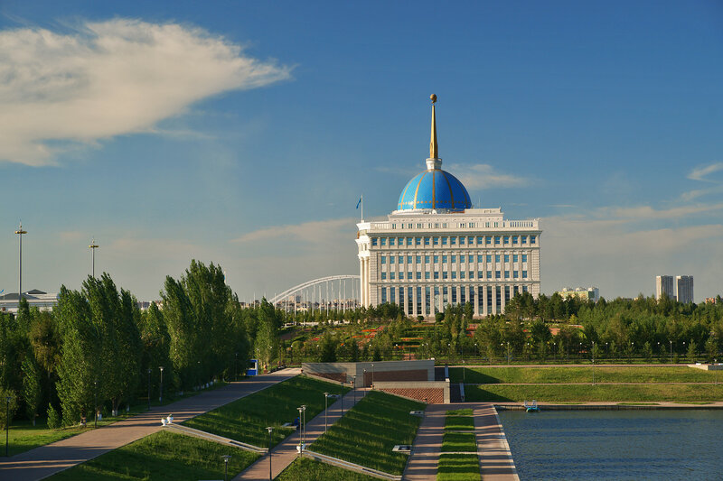 Резиденция президента Казахстана