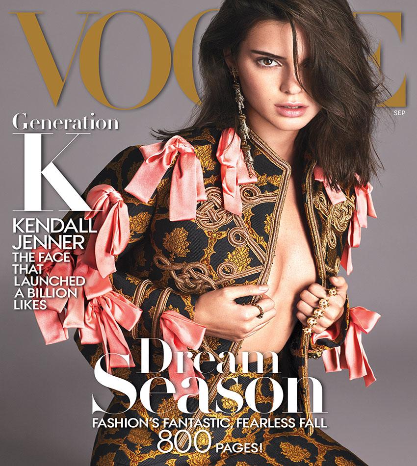 Kendall Jenner - Vogue US (September 2016)