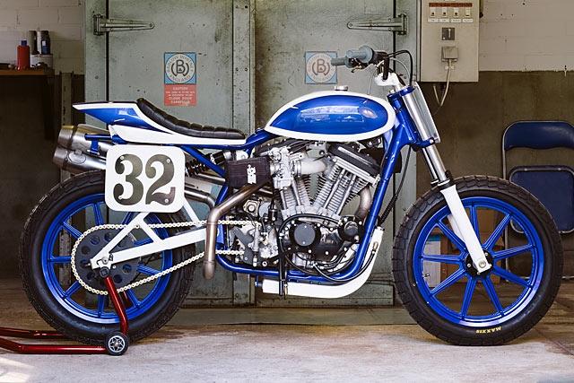 Барт Верстиджнен: трекер Harley-Davidson XL1200C 1990