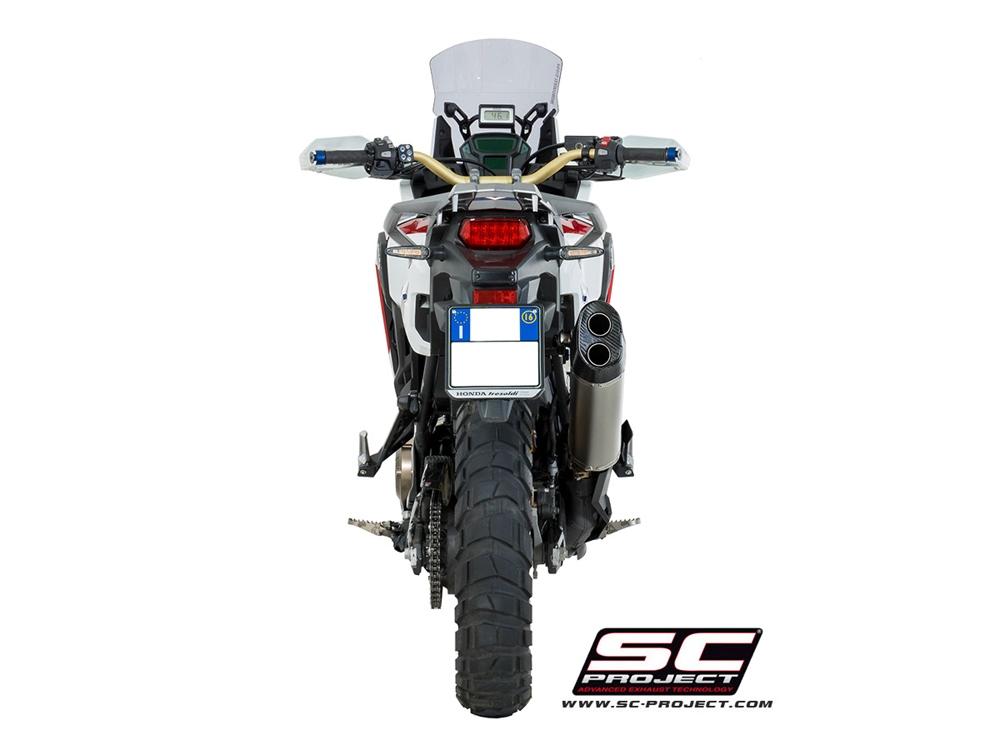 Глушитель SC Project Adventure для Honda CRF1000L Africa Twin