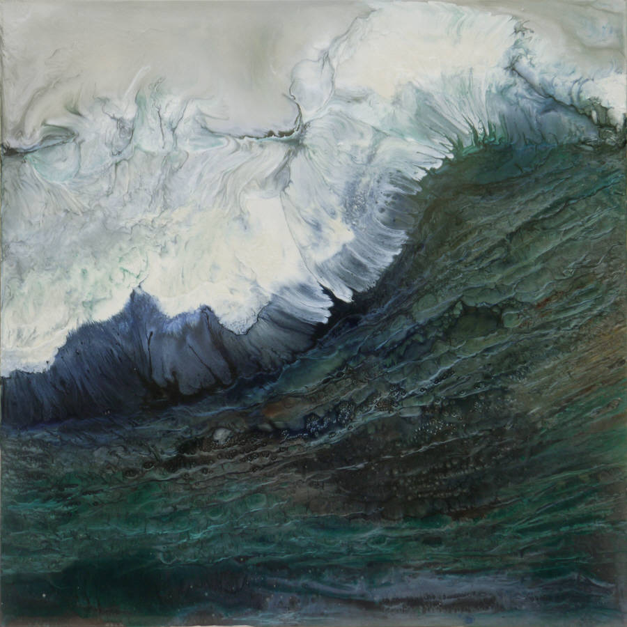 Impressive Paintings of the Power of Waves