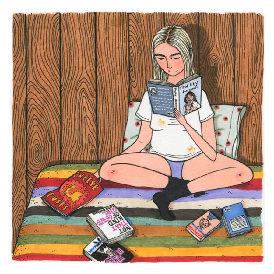 Nice Illustrations Celebrating Women's Friendship & Daily Life
